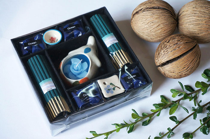 Candle and Incense Set